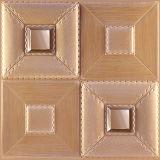 панель стены 1040-6 PU 3D кожаный для самомоднейшего нутряного украшения
