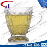 Coupe de café en verre transparent de 130 ml avec main (CHM8334)