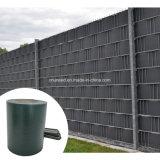 Encerado da cerca da tela da tira do PVC de Uneed 450g para o jardim da privacidade