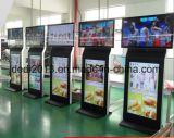 32 pulgadas de pantalla de alta calidad Dural LED para hacer publicidad