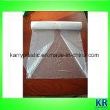 Les sacs d'emballage de HDPE C-Ont plié des sacs de détritus