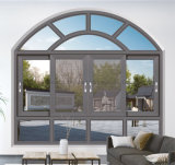 Matériau de construction de la fenêtre d'aluminium Casement type forme d'Arche