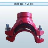 Guarniciones Grooved del color del tubo dúctil azul del hierro para el circuito de agua
