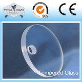Geboord Vlak Gebogen Gehard glas voor de Bouw met SGS van Ce ISO- Certificaat
