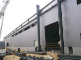 Costruzione chiara del magazzino della costruzione del blocco per grafici d'acciaio