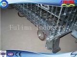 Recipiente resistente do engranzamento de fio de aço para as vendas (FLM-K-011)