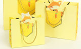 Paper Shopping Gift Presente Revestimento promocional Revestimento de papel de arte Carton Carton Picture Packing Bag for Kids / Child (d15)