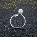 지르콘 Ringent 디자인 은 반지 형식 보석을%s 가진 925 순은 쉘