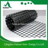 Géogrille biaxial en polyester renforcée de haute qualité pour sols