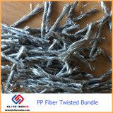 Anti-Cracking конкретные технические добавки PP волокна макрос поверните оптоволоконный комплект
