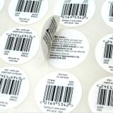 As etiquetas personalizadas da impressão Resealable Fácil-Abrem etiquetas Multi-Ply das etiquetas da construção \ etiqueta dobrada \ etiqueta do folheto