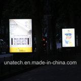 De reclame van het Scrollen LEIDENE van het Kanaal van de Opslag van het Gemak van het Aanplakbord van het Aluminium OpenluchtLightbox