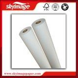 Fu 100GSMは非カールされる昇華熱伝達ペーパー乾燥した2.4m広いフォーマットによって絶食する