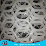 Rede plástica do engranzamento dos materiais novos
