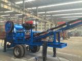 高品質の移動式粉砕機機械、移動式押しつぶすプラント、移動式押しつぶす端末
