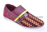 2012 Les plus populaires à la main PU Lady Fashion chaussures occasionnel