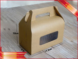 Contenitore di carta di carta kraft dell'alimento della caramella del regalo della scatola da pasticceria