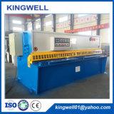 CNC haz de giro hidráulico de la máquina de esquila de la placa de la hoja de metal
