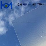 glace inférieure de panneau solaire de fer d'AR-Enduit Tempered de 3.2mm