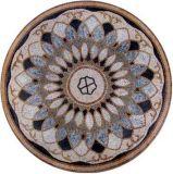 大理石パターンモザイク円形浮彫りのタイル