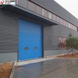 Автоматические промышленные секционные сползая надземные двери