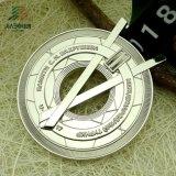주문 설계되는 은 러시아 올림픽 메달 테이블을 밖으로 속을 비게 하십시오