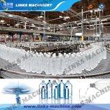 Água mineral puro e automático de enchimento e máquina de nivelamento/Linha