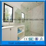 Cer, SGCC bescheinigte Polierfreie ausgeglichenes Glas-Dusche-Tür des rand-10mm
