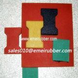 En1177 de Gediplomeerde Tegels van de Bevloering van de Tuin Rubber in China