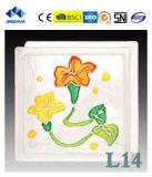 Высокое качество Jinghua художественных L-12 Окраска стекла блок/кирпича