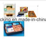 Industray 식품 포장 사용 음식 저장 격실 뚜껑을%s 가진 플라스틱 Cpet 쟁반