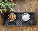 Cassetto d'alimentazione di plastica di gomma dell'alimento pp della ciotola dell'animale domestico del gatto del cane