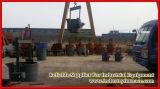 Poche chaude d'acier de bâti de vente au travail avec la fonderie de four de fonte