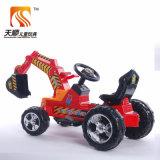 Type d'excavatrice sur la moto électrique de bébé de modèle
