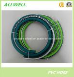 PVC-grüne schwarze Faser-umsponnener Hochdruckgarten-Spray-Luft-Schlauch