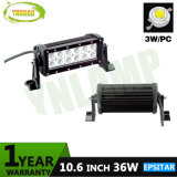 10.6inch 36W Epistar IP67 LED heller Stab für Jeep SUV