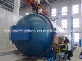 Autoclave para embarcações de pressão da fibra do carbono/fibra do carbono