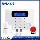 850/900/1800/1900MHz LCD 39 het Draadloze Draadloze Alarm van de Streek WiFi/GPRS/GSM, de Inbreker van het Huis