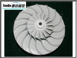 Alumínio do CNC da elevada precisão que faz à máquina girando Lathing