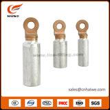 ひだが付くタイプアルミニウム銅Cu/AlのBiの金属ケーブルのラグナット