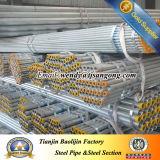 Tuyau EMT Zinc Coat pour Câble Electrique