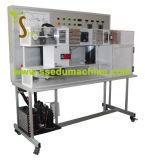 Equipo de enseñanza técnico amaestrador automatizado equipo educativo del aire acondicionado