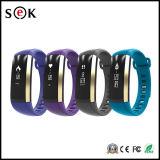 Pulsera elegante del Wristband del M2 OLED Bluetooth del podómetro impermeable elegante de la notificación con el monitor del ritmo cardíaco