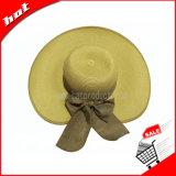 Chapéu de Palha de papel Floppy Hat Chapéu grande plano rasante HAT