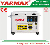 Yarmax Hersteller! Heißer Verkauf! Spitzenverkaufs-elektrisches Anfangsleiser Dieselgenerator 4.5kVA