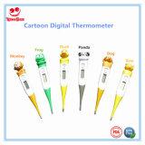 Cartoon design flexible thermomètre numérique Astuce