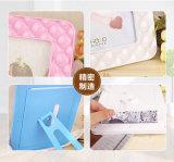 Ventas directas de la fábrica 7 pulgadas de marco plástico simple de la foto