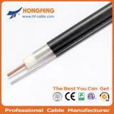 Câble coaxial de liaison QR540 de joncteur réseau de la télévision en circuit fermé 75ohm