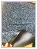 Циновка ковра с дном PVC с отрезанной кучей