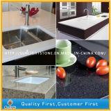 台所または浴室のための最もよい灰色の人工的な水晶石のカウンタートップ